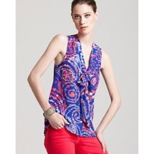 Lilly Pulitzer Raleigh Top in Secret Snail